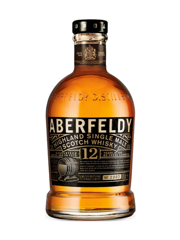 Aberfeldy Highland Single Malt Scotch 12 Year Old
