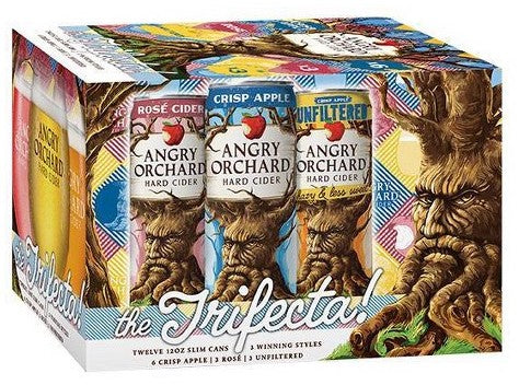 Angry Orchard Hard Cider  The Trifecta! Variety Pack