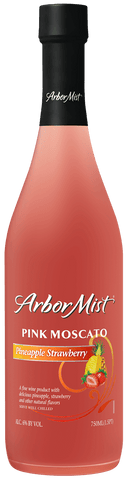 Arbor Mist Pineapple Strawberry Pink Moscato