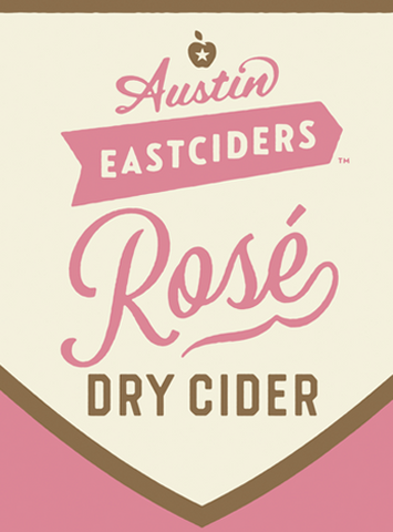 Austin Eastciders Rose Dry Cider