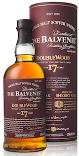 The Balvenie Single Malt Scotch Whisky 17 Year Old Doublewood 750ML