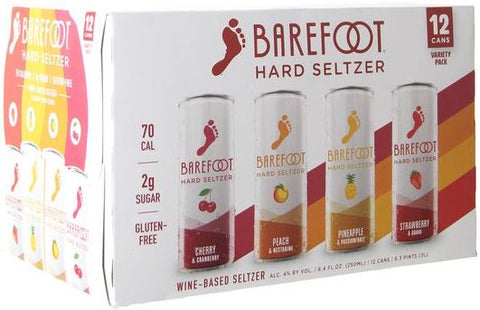 Barefoot Hard Seltzer Variety Pack