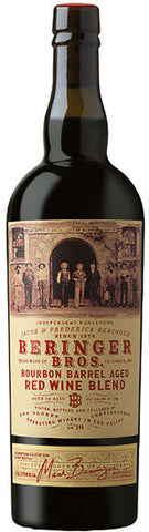 Beringer Bros. Red Wine Blend Bourbon Barrel Aged 2016 750ML
