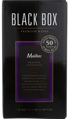 Black Box Malbec 3.0LT Box Wine