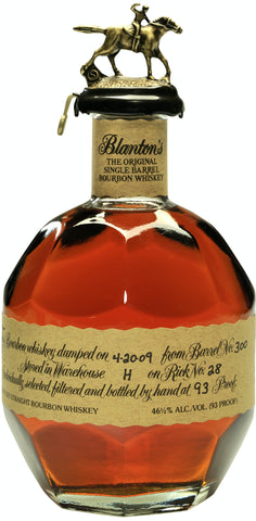 Blanton's Single Barrel Bourbon Whiskey - LIMIT ONE BOTTLE PER CUSTOMER