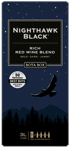 Bota Box Nighthawk Black Rich Red Wine Blend 3.0LT Box Wine