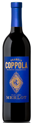 Francis Coppola Merlot Diamond Collection Blue Label 750ML