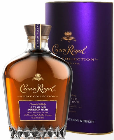 Crown Royal Canadian Whisky Noble Collection 13 Year Old Bourbon Mash Limited Release 750ML