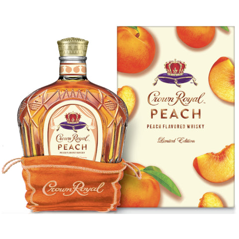 Crown Royal Blended Canadian Whisky Peach