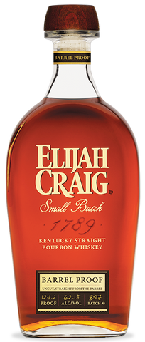 Elijah Craig Bourbon Barrel Proof 131.4 Proof Batch No. C918