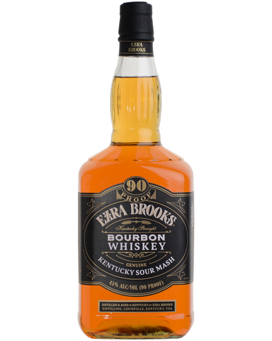 Ezra Brooks Bourbon Whiskey Sour Mash