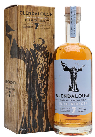 Glendalough Irish Whiskey 7 Year Old Single Malt Finished in Black Pitts Porter Barrels