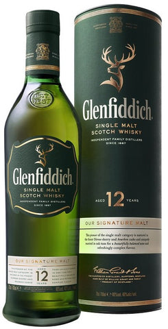 Glenfiddich Single Malt Scotch Whisky 12 Years Old Our Signature Malt