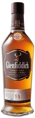Glenfiddich Single Malt Scotch Whisky 18 Years Old Small Batch Reserve