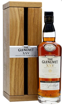 The Glenlivet Single Malt Scotch Whisky XXV 25 Year Old