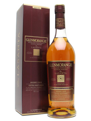 Glenmorangie Highland Single Malt Scotch The Lasanta 12 Year Old