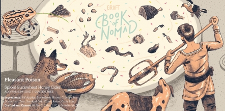 Graft Book of Nomad Pleasant Poison Spiced Buckwheat Honey Cider
