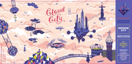 Graft Cloud City Sapphire City Hop Blueberry Dreamsicle Cider