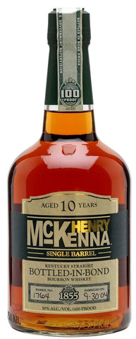 Henry McKenna 10 Year Old Kentucky Straight Bourbon Whiskey Bottled-In-Bond 100 Proof - LIMIT TWO BOTTLES PER CUSTOMER