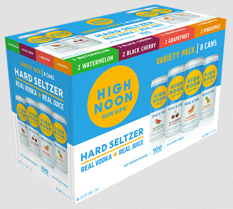 High Noon Hard Seltzer 8-Pack Variety Pack