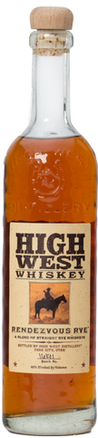 High West Whiskey Rendezvous Rye