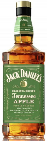 Jack Daniel's Tennessee Apple Liqueur Blended with Whiskey