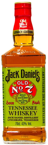 Jack Daniel's Old No. 7 Tennessee Sour Mash Whiskey Legacy Edition