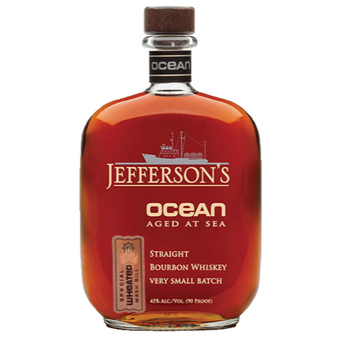 Jefferson's Ocean Bourbon Aged at Sea Special Wheated Mash Bill Voyage 19