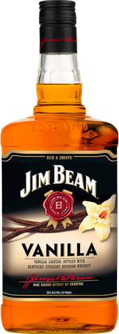 Jim Beam Vanilla Liqueur Infused with Kentucky Straight Bourbon Whiskey
