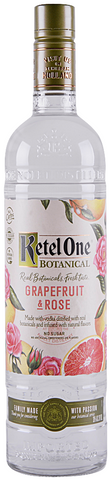 Ketel One Vodka Botanical Grapefruit & Rose