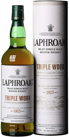 Laphroaig Islay Single Malt Scotch Whisky Triple Wood