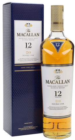 The Macallan Highland Single Malt Scotch Whisky 12 Years Old Double Cask