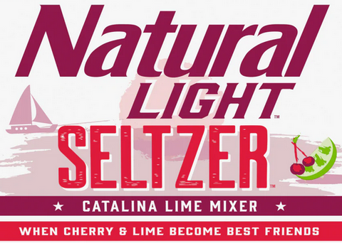 Natural Light Seltzer Catalina LIme Mixer Cherry & Lime