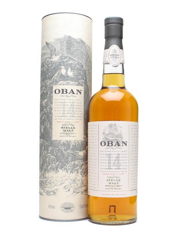 Oban West Highland Single Malt Scotch Whisky 14 Year Old