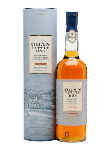 Oban West Highland Single Malt Scotch Whisky Little Bay