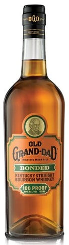 Old Grand Dad Kentucky Straight Bourbon Whiskey Bonded 100 Proof