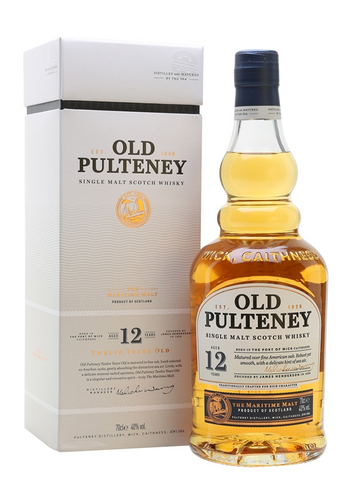 Old Pulteney Single Malt Scotch 12 Year Old The Maritime Malt