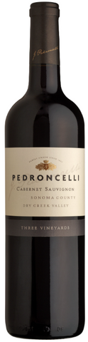 Pedroncelli Cabernet Sauvignon Three Vineyards Sonoma County Dry Creek Valley 2014 750ML