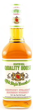 Quality House by Heaven Hill Old Style Kentucky Straight Bourbon Whiskey White Label