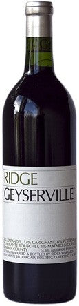 Ridge Geyserville 2016 750ML
