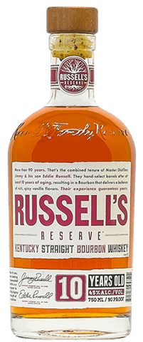 Russell's Reserve Bourbon 10 Years Old by Wild Turkey