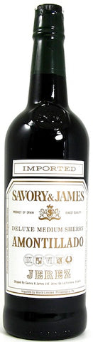 Savory & James Medium Blend of Amontillado Deluxe Medium Sherry 750ML