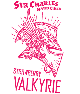 Sir Charles Strawberry Valkyrie Hard Cider