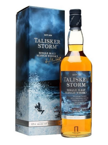 Talisker Single Malt Scotch Storm