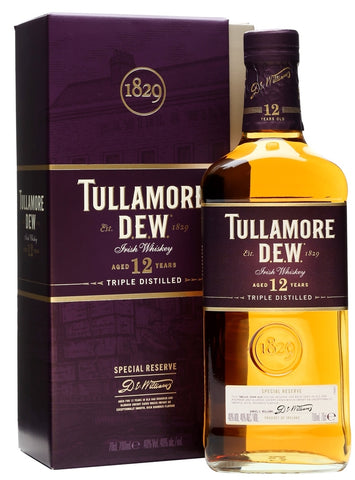 Tullamore Dew Irish Whiskey 12 Year Old Special Reserve