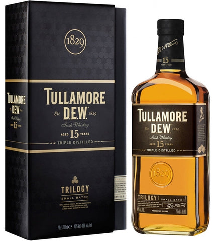 Tullamore Dew Irish Whiskey 15 Year Old Trilogy