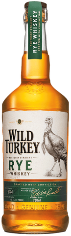 Wild Turkey Kentucky Straight Rye Whiskey 81 Proof