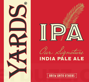 Yards Brewing Company IPA India Pale Ale