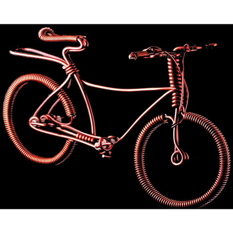 Copper Wire Bikes -10 PCS. (Mountain Bike)