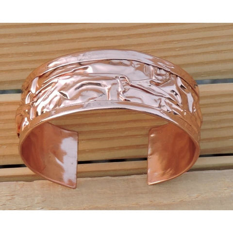 Copper Bracelets - 10 PCS. (Narrow)